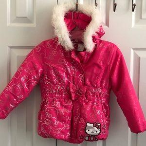 Hello Kitty Toddler Winter Coat
